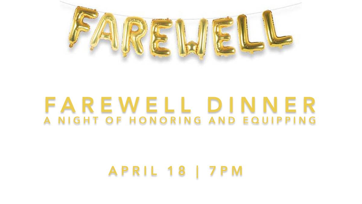 Farewell Event