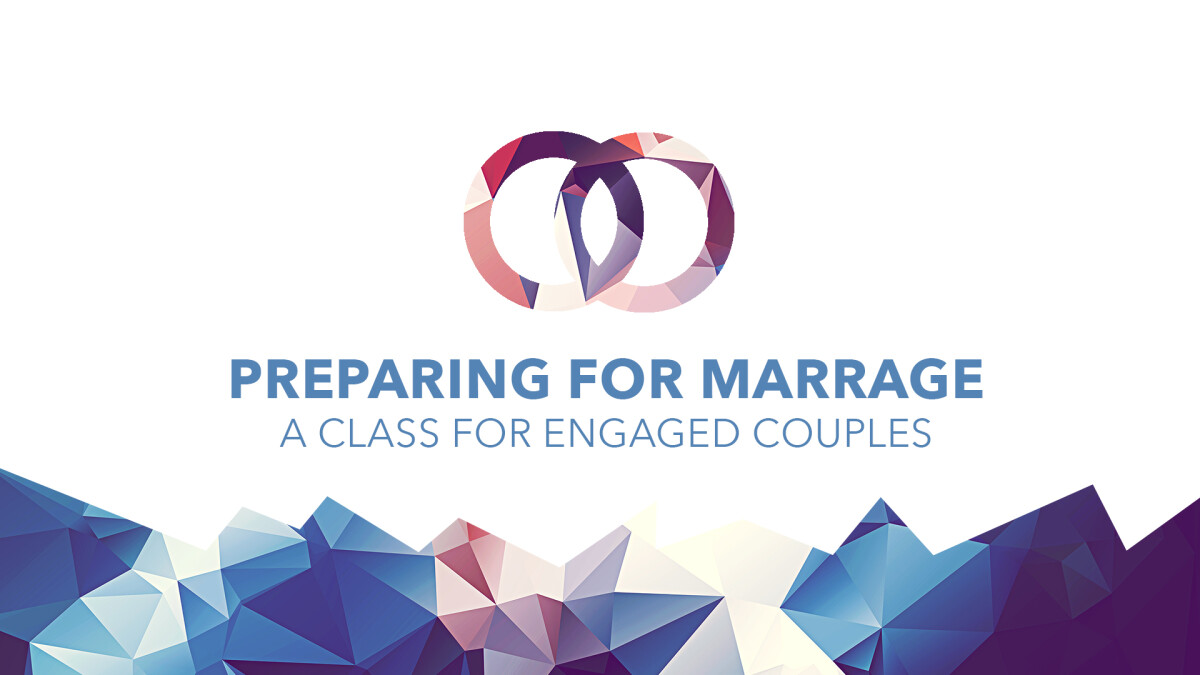 Preparing for Marriage Class