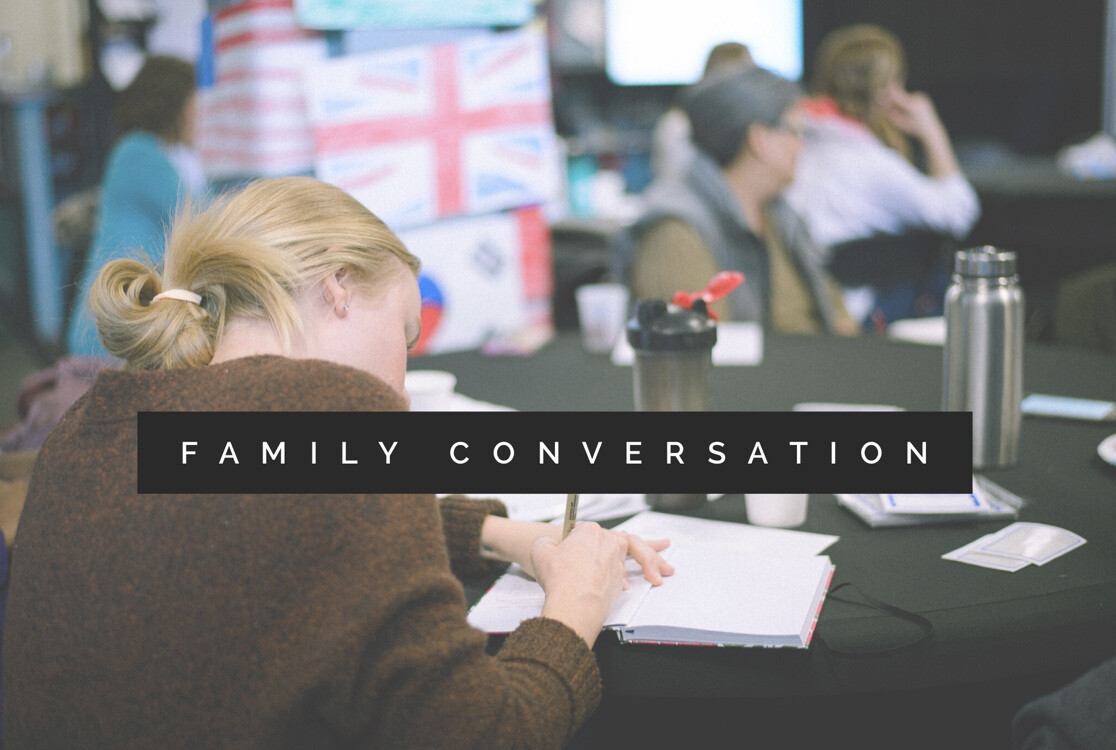Family Conversation (The Image Of God - Part 1)